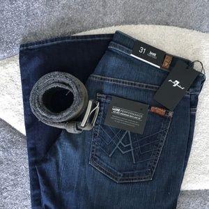7 for all Mankind Designer Men Jean 💙